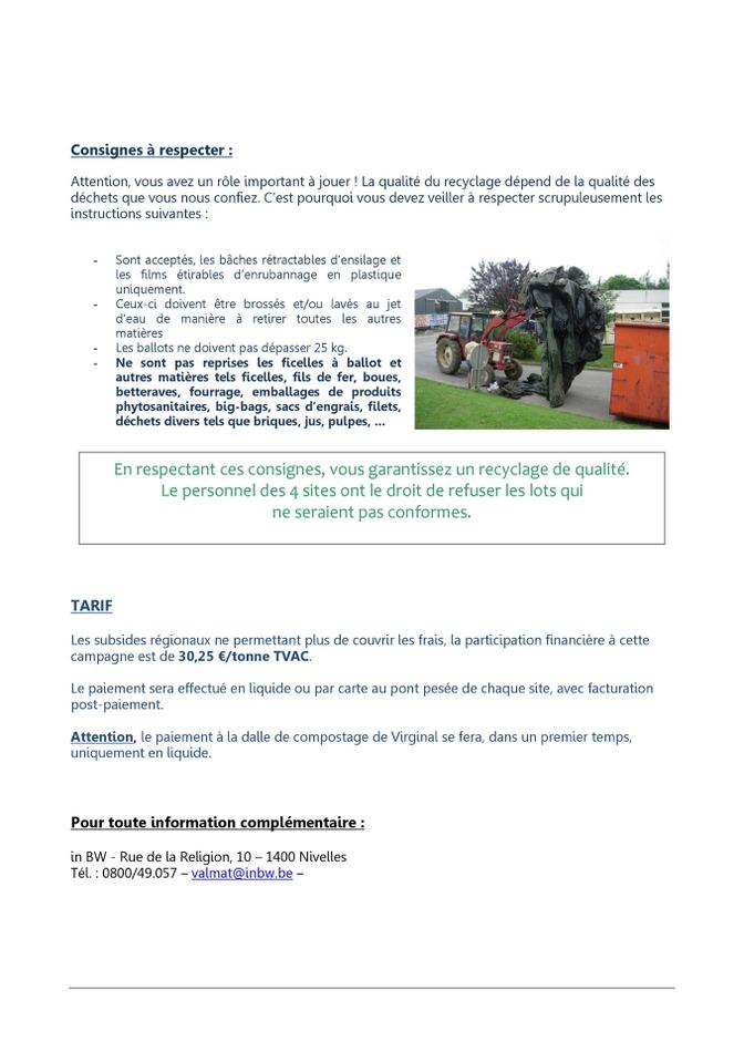 collecte bâches agricoles 2